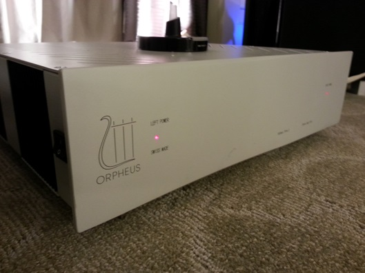 Orpheus Classic line stereo amp