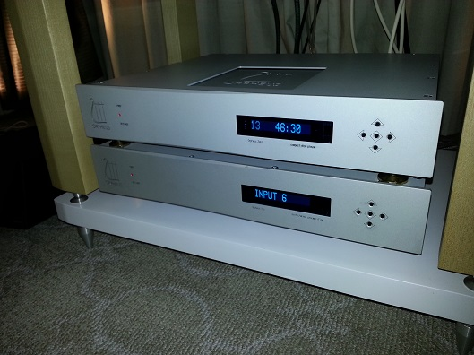 Orpheus Classic line CDP and Pre-amp